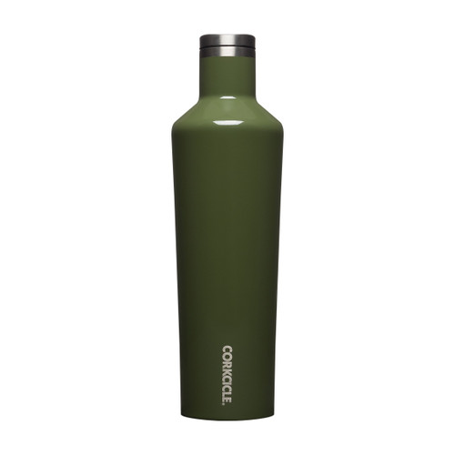 Canteen 25oz Gloss Olive