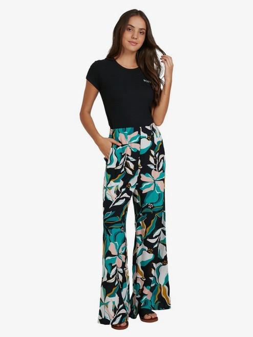 Side By Side Floral Wide-Leg