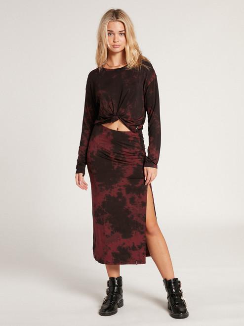 Be Easy Babe Midi Skirt