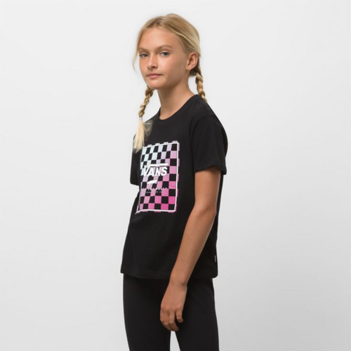 Grils Boxed In Checks Crew Tee