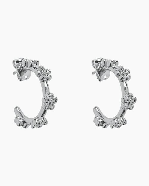 Bitty Daisy Hoop Earrings
