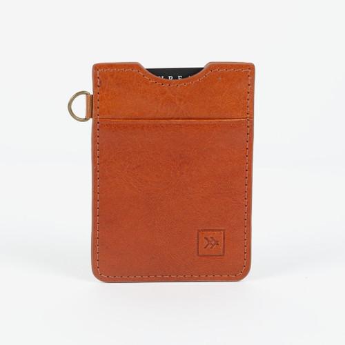 Vertical Wallet- Honey