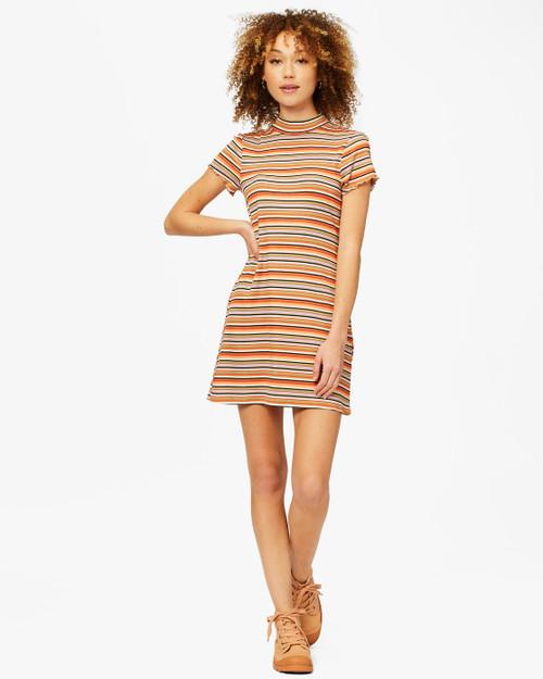 Lost In Time Knit Stripe Dress