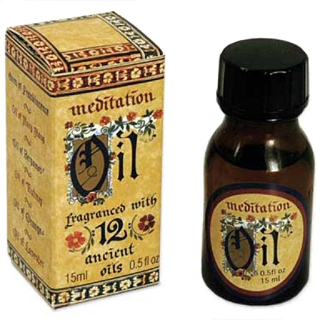 Meditation Fragrant Burning Oil 15 ml