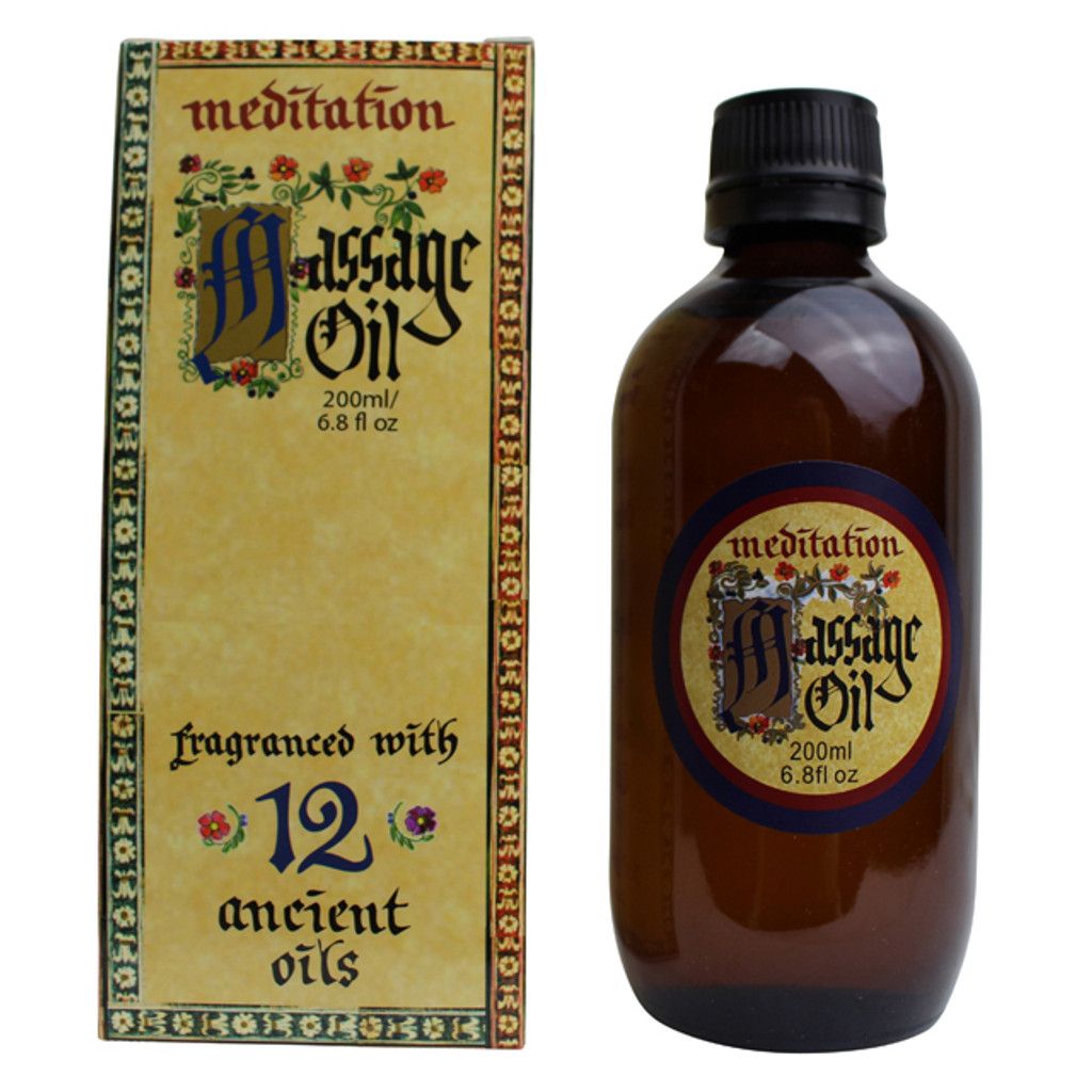Meditation Massage Oil, 200 ml