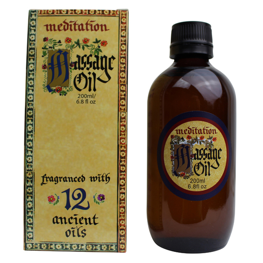 Meditation Massage Oil, 200 ml