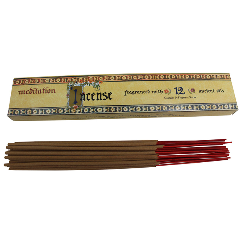 Meditation Range Incense 24 Sticks
