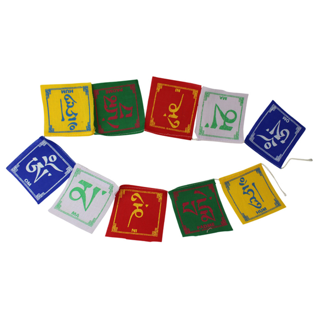 Om Mantra Flags
