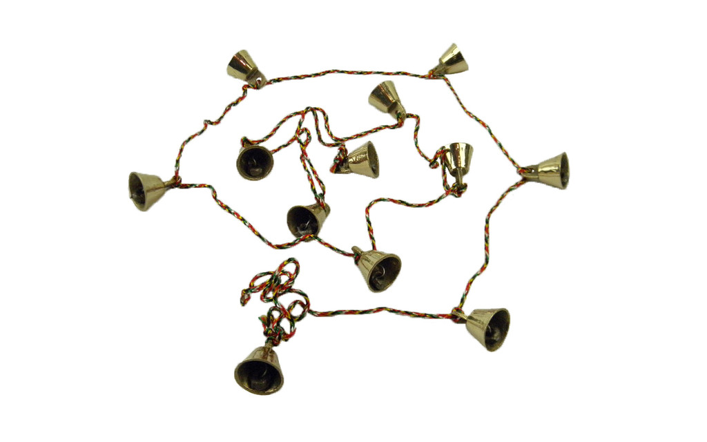 12 Tiny Brass Bells