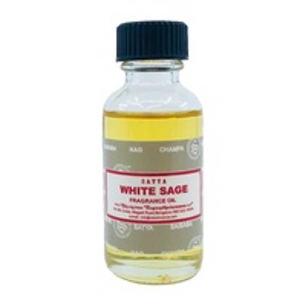 Satya Burner Oil WHITE SAGE 30ml