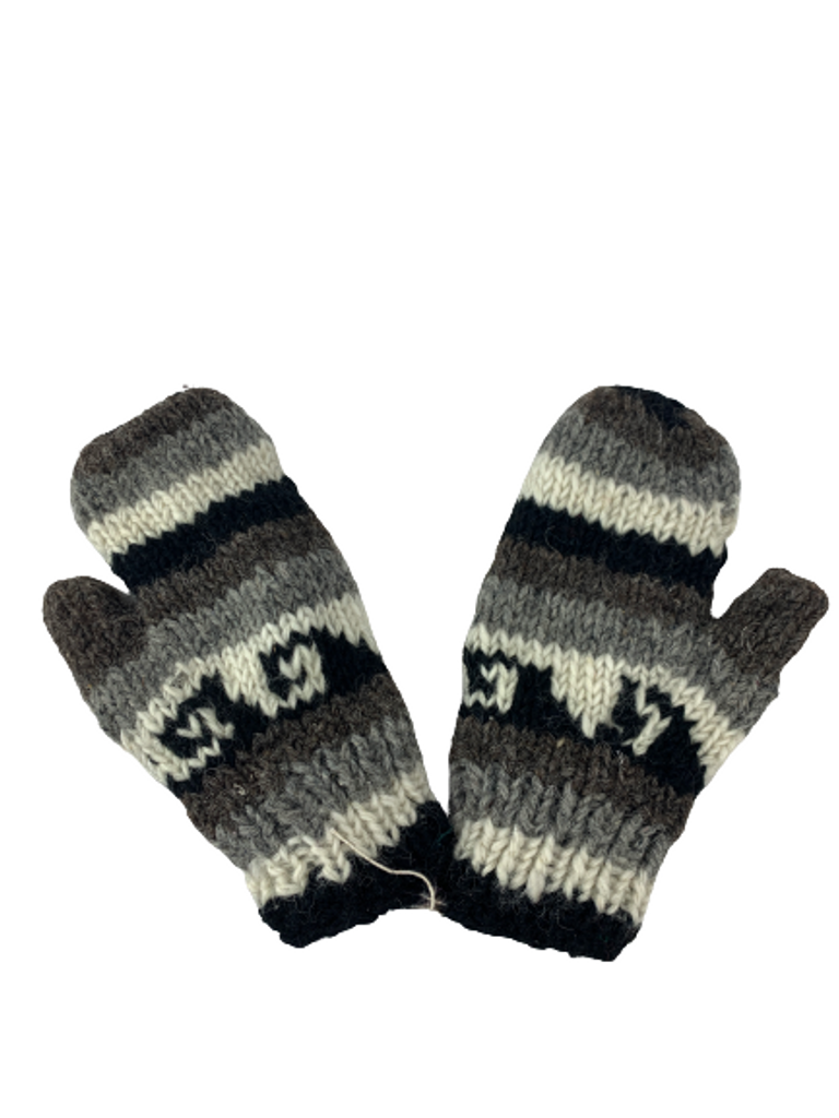 Nepalese Hand Knitted Woolen Gloves