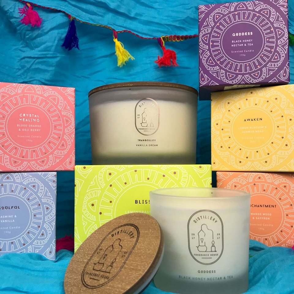 Hand poured triple scented Soy Candles. Vegan Friendly 50 Hours
