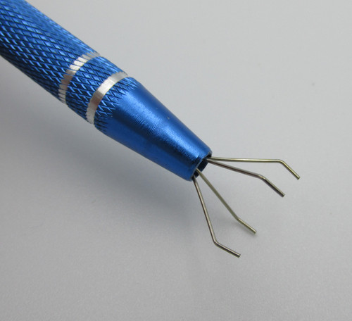 Electronics Parts Pick Up Tool commonly used for Electronics and phone repair and can be used for picking up small parts.
