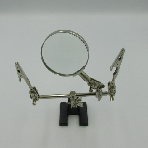 Clamp Tool with Magnifier. Great for soldering, Electronics Repair or just general small work.