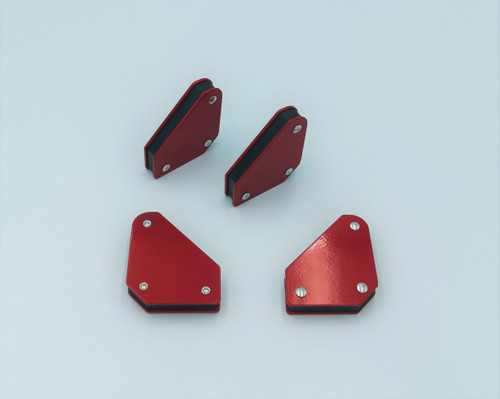 Magnetic Welding Holders - 4-Piece Kit Can be used to hold metal pieces in place while designing and welding.