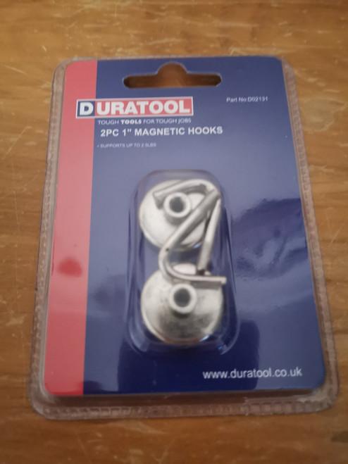 "2 Pack Magnetic Hooks - 1"" Small"
