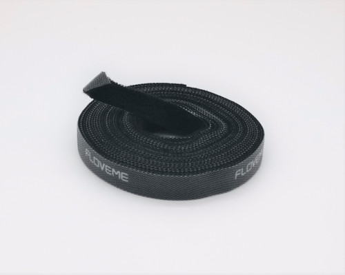 Hook and Loop Tape - 5metre length. Great for tying up cables behind tv's and computers. Comes in a 5metre length and can be cut to size when fitting.