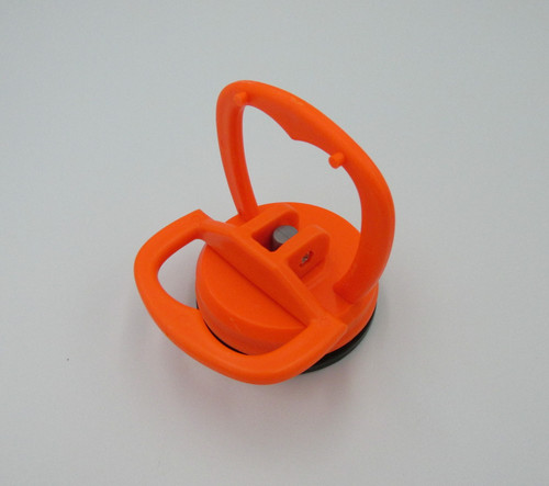 Orange heavy duty suction cup, commonly used for removing screens from phones and tablets