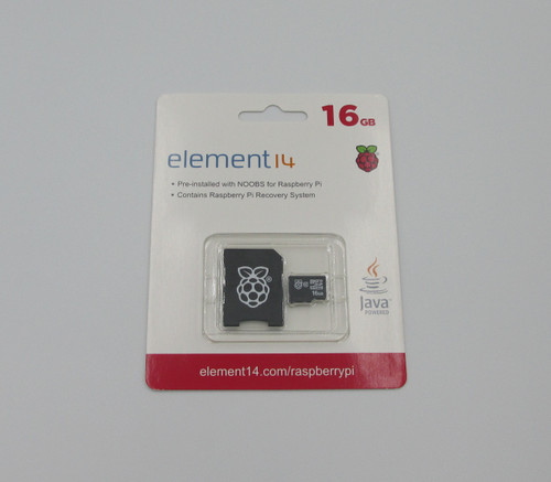 16GB Raspberry Pi MicroSD Card - Preinstalled With NOOBS. Noobs is a fast and easy way to get started with various operating systems. Also contains Raspberry Pi recovery System