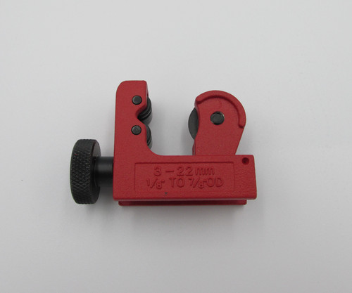 Mini Tube Pipe Cutter. Used for cutting thin wall tubes made from copper, Brass, Aluminum.