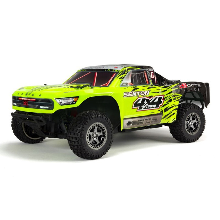 1/10 Senton 4x4 3S BLX SCT RTR Green/Black by ARRMA
