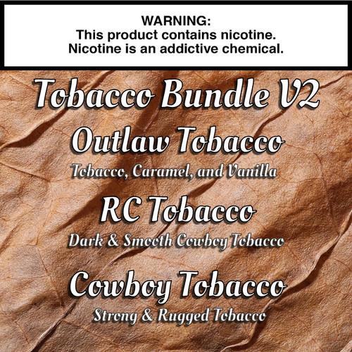 Tobacco Gorilla Eliquid Bundle V2 - 180ml