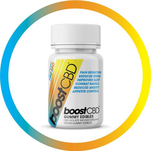 BoostCBD 150mg CBD Vegan Gummy Edibles