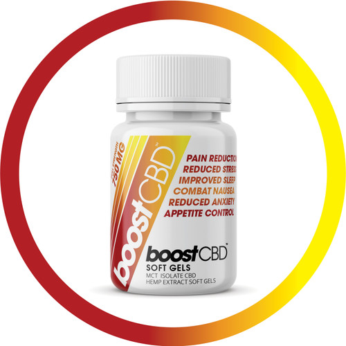 BoostCBD 750mg CBD Softgels