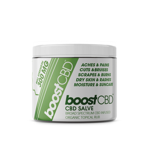 BoostCBD 300mg CBD Topical Salve