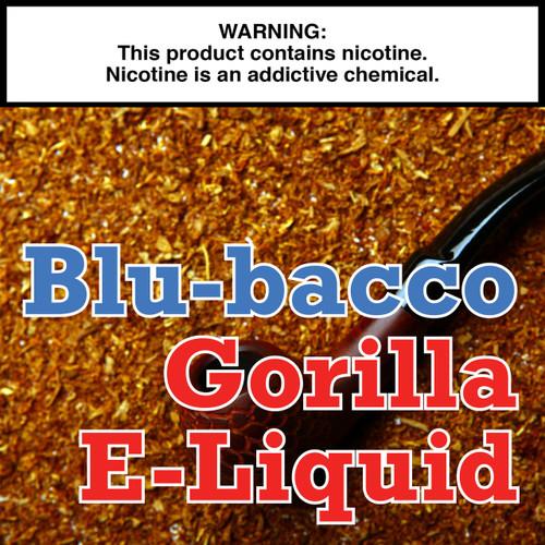 Blu-bacco Tobacco Gorilla Eliquid