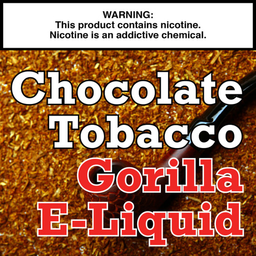 Chocolate Tobacco Gorilla Eliquid