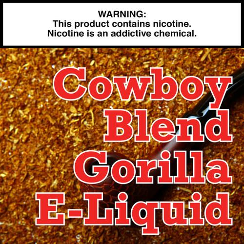 Cowboy Blend Gorilla Eliquid