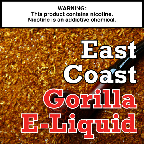 East Coast Tobacco Gorilla Eliquid
