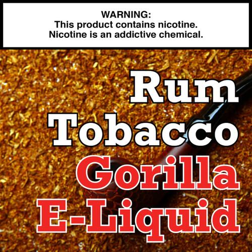 Rum Tobacco Gorilla Eliquid