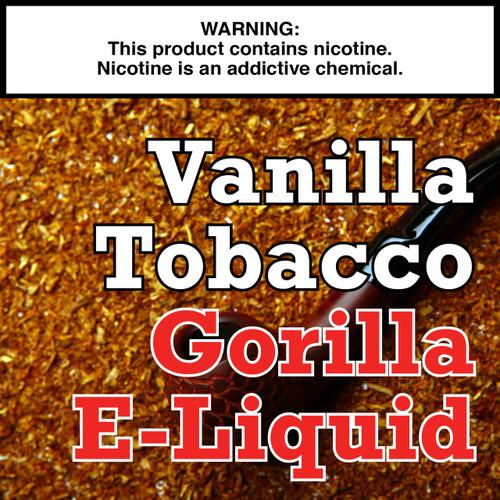 Vanilla Tobacco Gorilla Eliquid