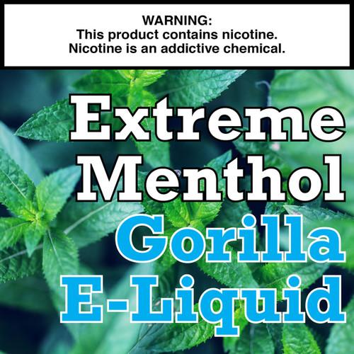 Extreme Menthol Gorilla Eliquid
