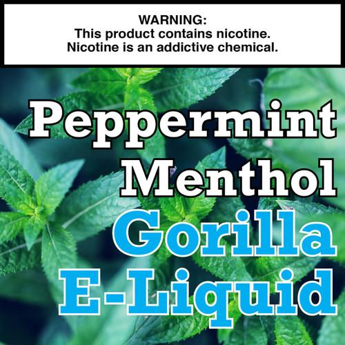 Peppermint Menthol Gorilla Eliquid