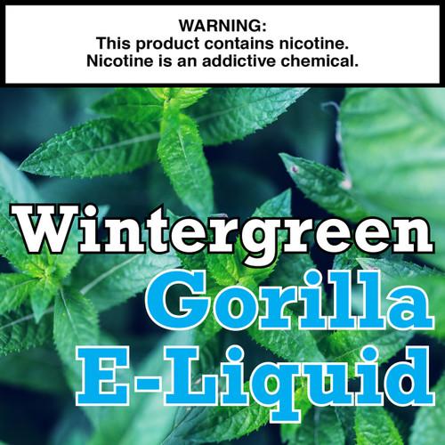 Wintergreen Gorilla Eliquid