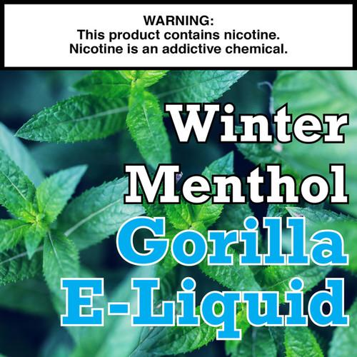 Winter Menthol Gorilla Eliquid