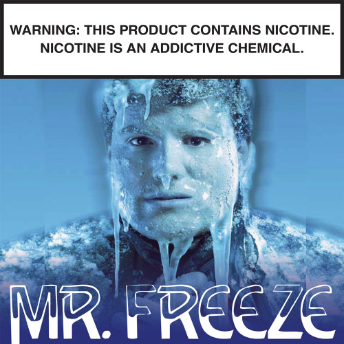 Mr Freeze Signature Flavor