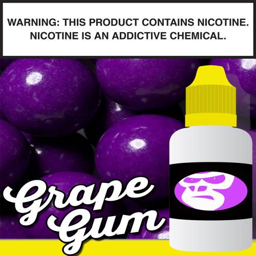 Grape Gum Gorilla Eliquid