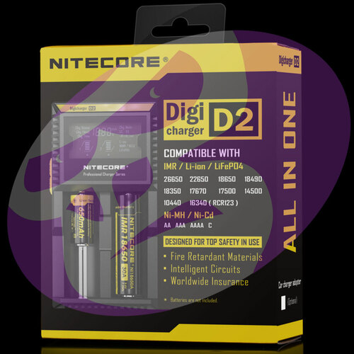 Nitecore D2 Dual Battery Charger