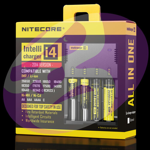 Nitecore I4 Quad Battery Charger