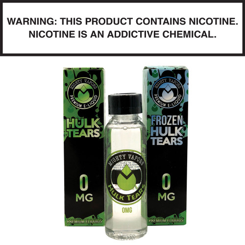Mighty Vapors Hulk Tears & Frozen Hulk Tears 60ml