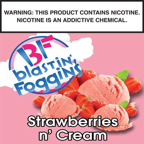 Blastin' Foggins Strawberries And Cream by CCC