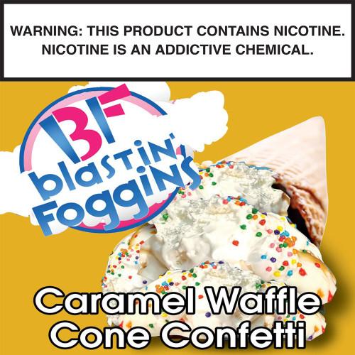 Blastin' Foggins Caramel Waffle Cone Funfetti by CCC