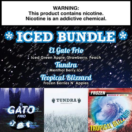 Iced Fruit Gorilla Eliquid Bundle - 180ml