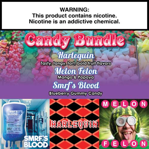 Candy Gorilla Eliquid Bundle - 180ml
