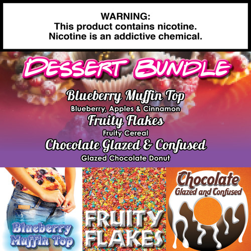 Dessert Gorilla Eliquid Bundle  - 180ml