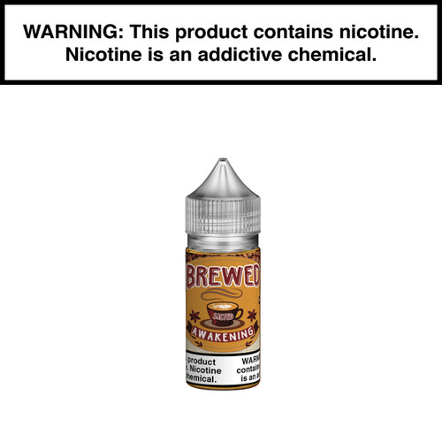 Brewed Awakening Classic Salt Nicotine 30ml